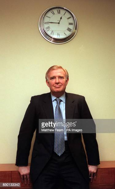 American banking executive Mike O'Neill at a photocall in London following his appointment as group chief executive and director by Barclays Bank...