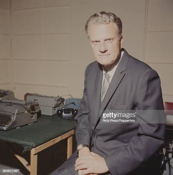 American Baptist minister and evangelist Billy Graham posed on 22nd June 1967