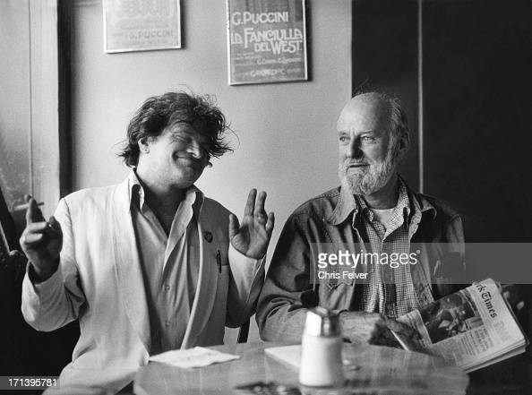 Corso Amp Ferlinghetti At Cafe Pictures Getty Images