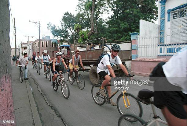 American bicyclists take a tour through Cuba's eastern provinces January 2001 through a Cuban bicycle club in conjunction with the Seattlebased...
