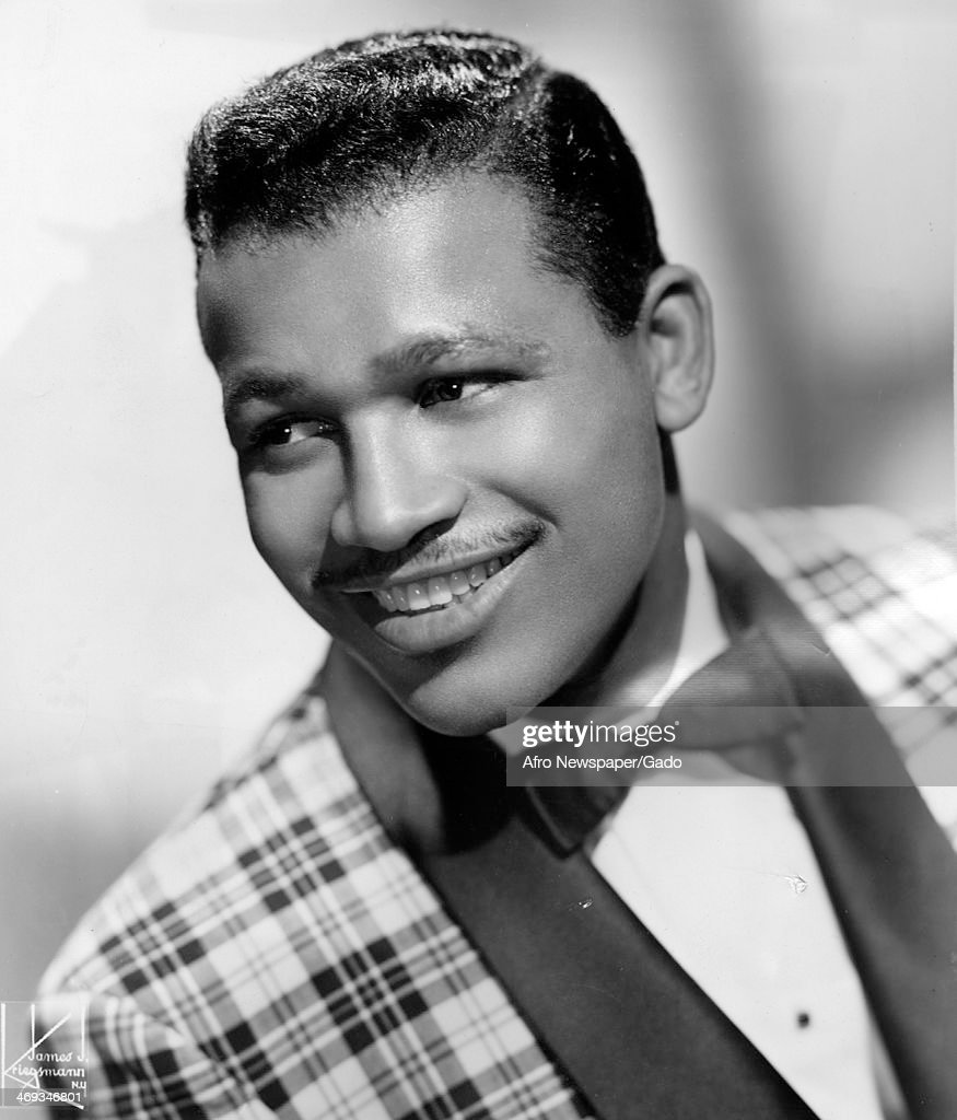 Portrait of Sugar Ray Robinson former prize fighter following a successful tour of theatres and night clubs 1952