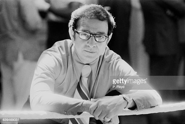 American boxing trainer Angelo Dundee comes to England to handle Cuban champion Luis Manuel Rodriquez UK 20th May 1971