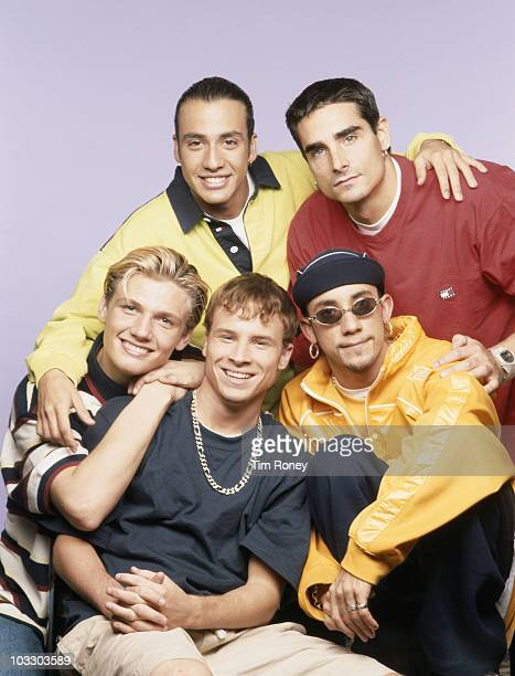 American boy band Backstreet Boys circa 1995