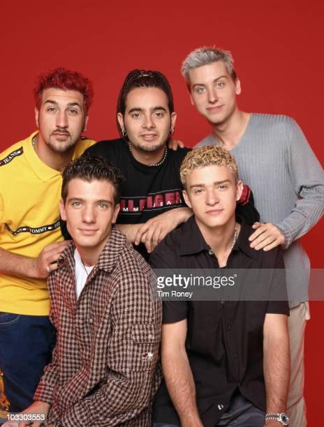American boy band 'N Sync circa 2000 Clockwise from top left Joey Fatone Chris Kirkpatrick Lance Bass Justin Timberlake and JC Chasez