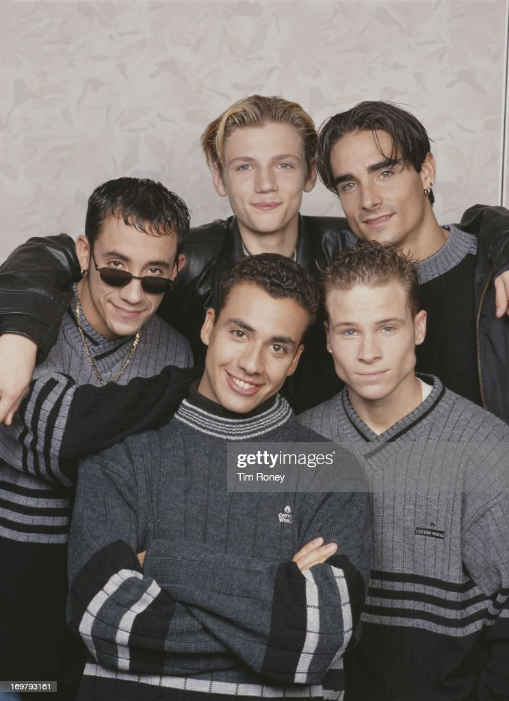 American boy band the Backstreet Boys circa 1995 They are A J McLean Howie Dorough Nick Carter Kevin Richardson and Brian Littrell