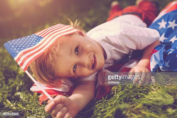 Amerikanische Junge