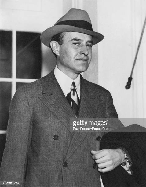 American businessman and Democratic Party politician W Averell Harriman pictured in Washington DC United States on 18th February 1941 Harriman has...