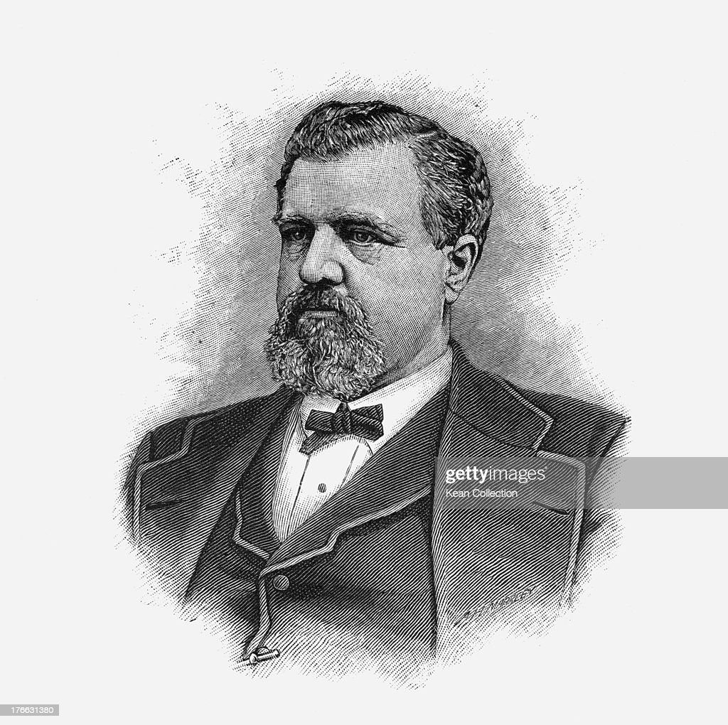 American businessman and mining entrepreneur James Clair Flood (1826 - 1889), circa 1880.