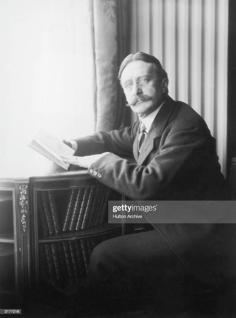American businessman Harry Gordon Selfridge founder of Selfridges department store in London pictured circa 1910