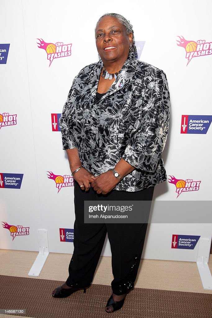 American Cancer Society National Chair of the Board Cynthia LeBlanc attends the cast of 'Hot Flashes' and The American Cancer Society celebrate 'Blow Out Cancer' event at Montage Beverly Hills on June 19, 2012 in Beverly Hills, California.