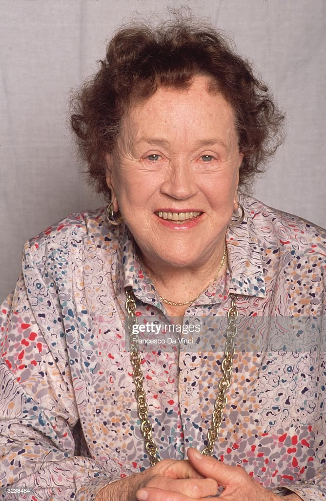 American chef <a gi-track='captionPersonalityLinkClicked' href=/galleries/search?phrase=Julia+Child&family=editorial&specificpeople=206805 ng-click='$event.stopPropagation()'>Julia Child</a>.