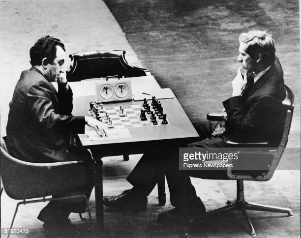 American chess champion and prodigy the controversial and tempermental Bobby Fischer plays Soviet chess player Tigran Petrosian in Buenos Aires...