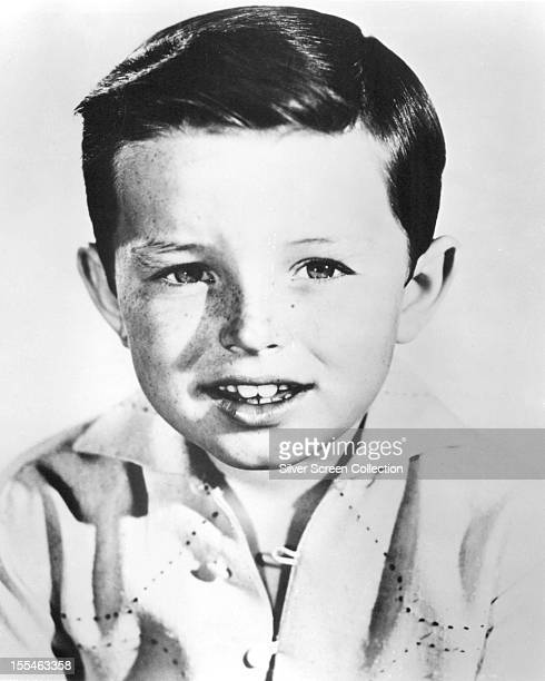 American child actor Jerry Mathers who plays Theodore 'The Beaver' Cleaver in the American sitcom 'Leave It To Beaver' circa 1957