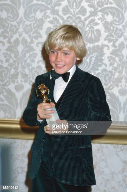 American child actor Ricky Schroder wins the Golden Globe New Star of the Year in a Motion Picture award for his role in 'The Champ' 26th January 1980