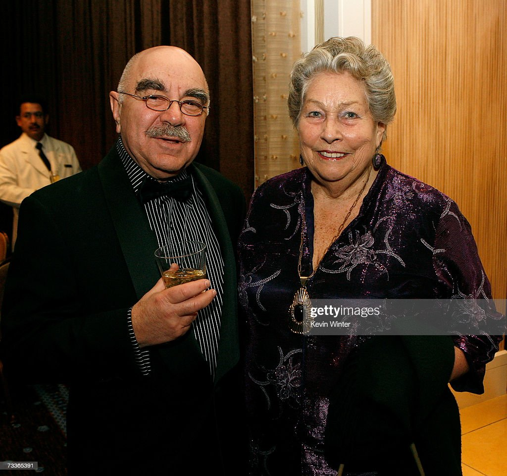 American Cinema Editors President Alan Heim and Editor Anne V Coates attend the 57th annual ACE Eddie Awards cocktail reception held at the Beverly...