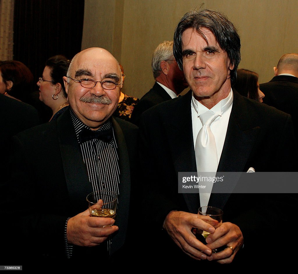 American Cinema Editors President Alan Heim and editor Patrick McMahon ACE attend the 57th annual ACE Eddie Awards cocktail reception held at the...