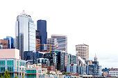 City skyline. Seattle, Washington, USA.