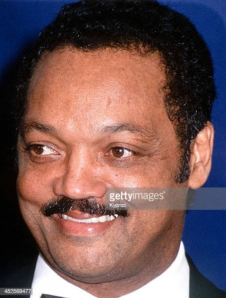 American civil rights activist and minister Jesse Jackson circa 1990