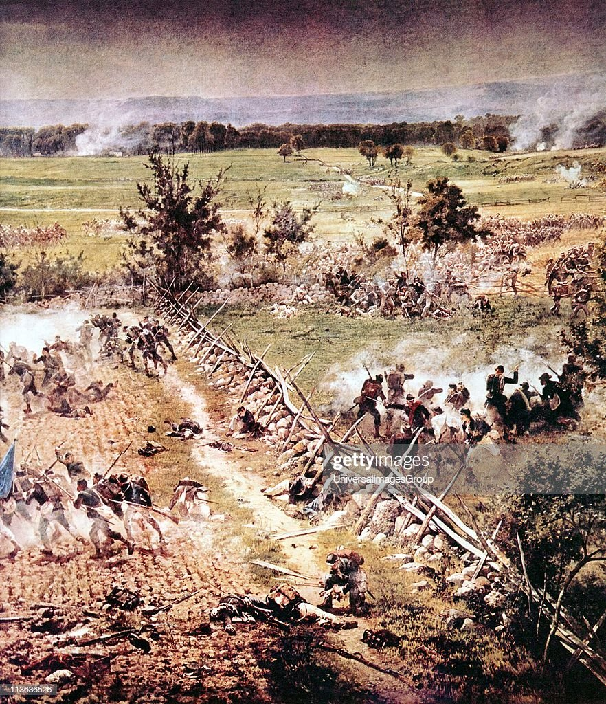 American civil war battle of gettysburg 1 3 july 1863 heavy losses