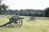 American Civil War Chancellorsville Battlefield Cannons Virginia