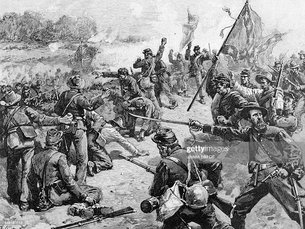American civil war Second battle of Bull Run at Manassas ...