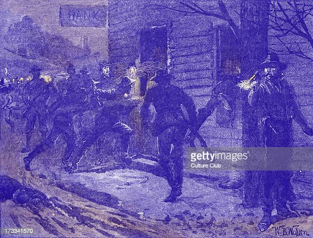 St Albans Raid Confederate raid on St Albans Vermont on 19 October 1864 Northernmost action of war Confederacy under the command of Bennett H Young