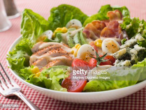 American Cobb Salad : Stock Photo