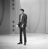 American comedian and actor Richard Pryor performs on an episode of 'The Ed Sullivan Show' New York New York December 8 1963