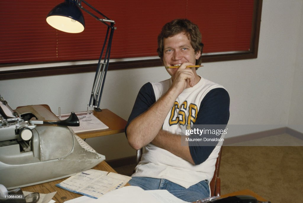 American comedian and television show host David Letterman, circa 1980.
