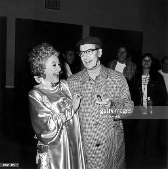 American comedian groucho marx with actress and comedian phyllis