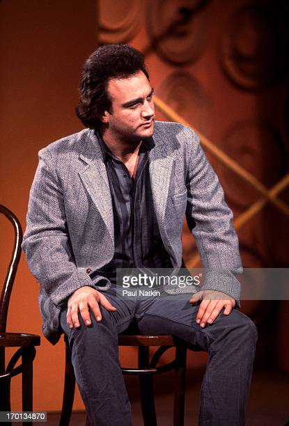 American actor Jim Belushi at the Second City Television Show's 20th anniversary event at the Vic Theater Chicago Illinois December 16 1984