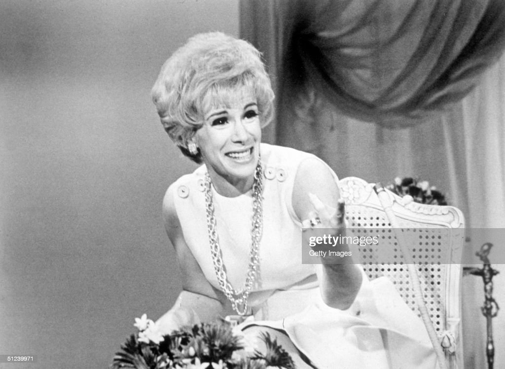 1969, American comedian <a gi-track='captionPersonalityLinkClicked' href=/galleries/search?phrase=Joan+Rivers&family=editorial&specificpeople=159403 ng-click='$event.stopPropagation()'>Joan Rivers</a> laughs while hosting the television program 'That Show'.