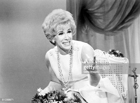 1969 American comedian Joan Rivers laughs while hosting the television program 'That Show'