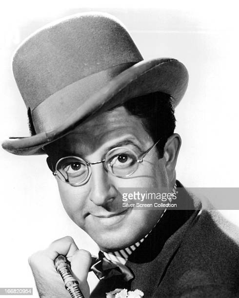 American comedian Phil Silvers as he appears in the musical 'Top Banana' directed by Alfred E Green 1954