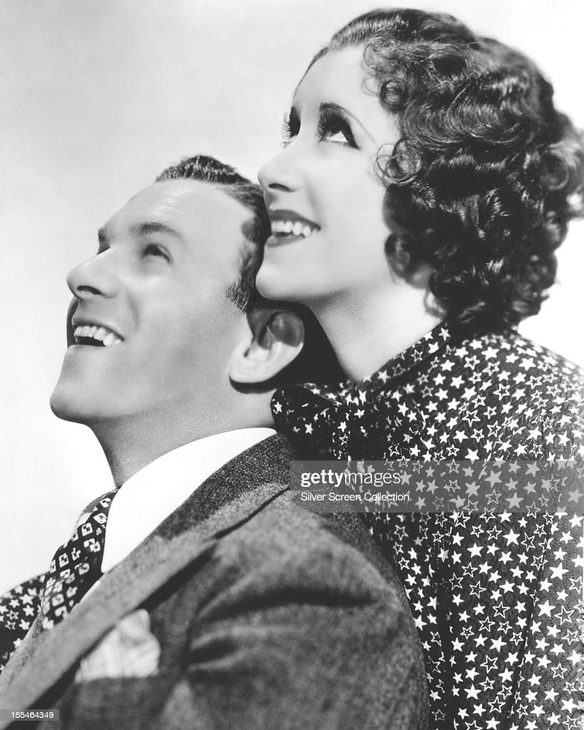 American comedians George Burns and his wife Gracie Allen circa 1935
