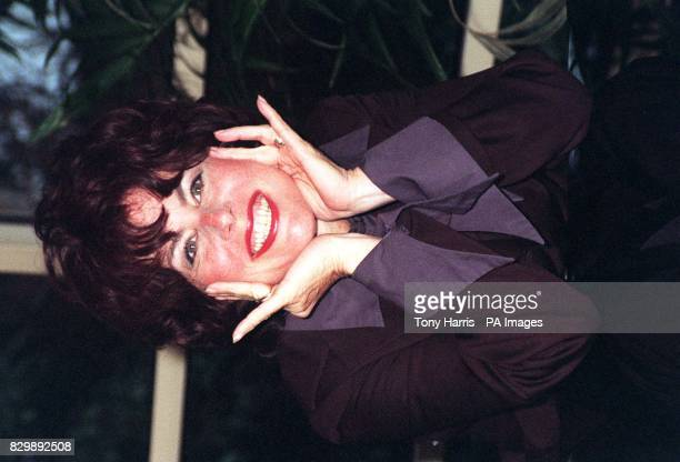 American comedienne Ruby Wax in London this afternoon to launch the latest series of her BBC1 interview series Ruby Wax Meets The latest series sees...