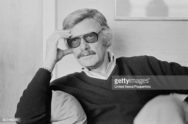 American comic book writer and editor Stan Lee pictured in London on 26th February 1979