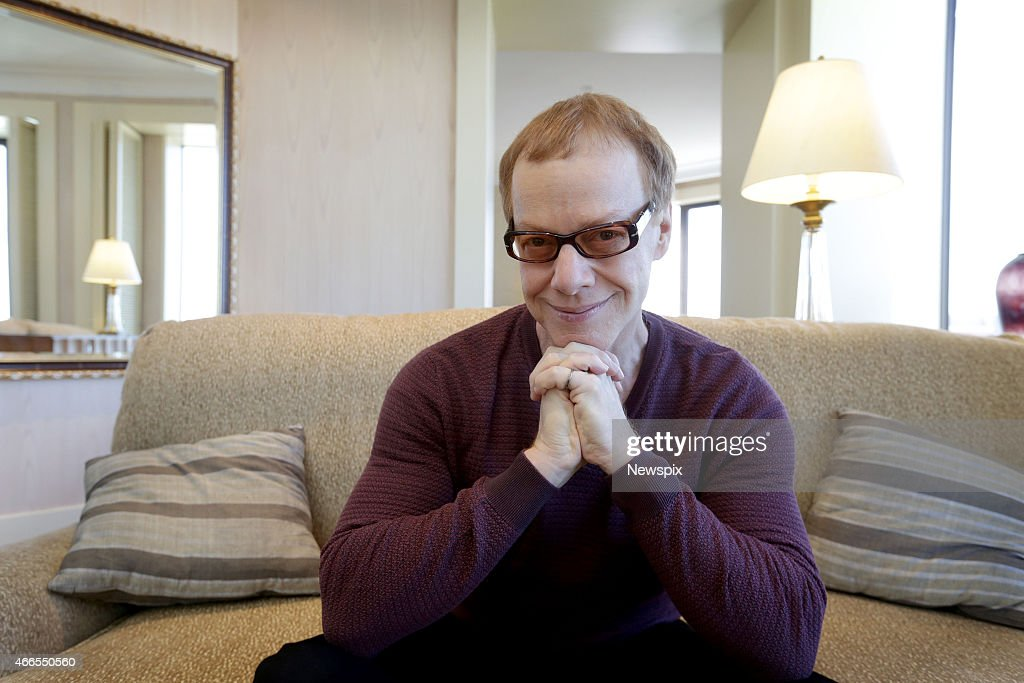 American composer Danny Elfman poses during a photo shoot in Adelaide, South Australia.