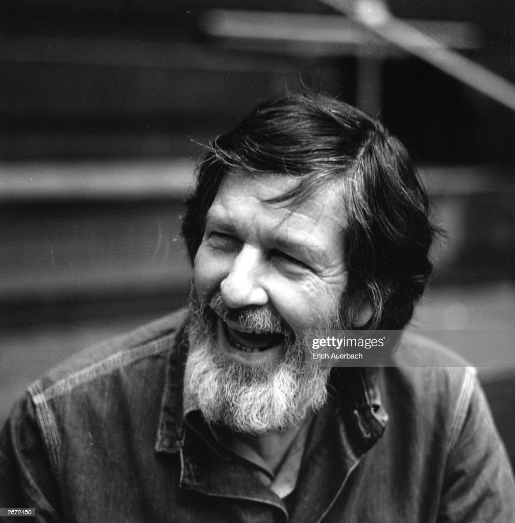 American composer, pianist and writer John Cage (1912 - 1992), 22nd May 1972.