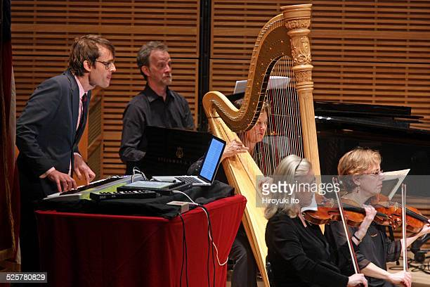 American Composers Orchestra presents 'Orchestra Underground Monk's Sphere' at Zankel Hall on Friday night November 21 2014This imageThe composer Ian...