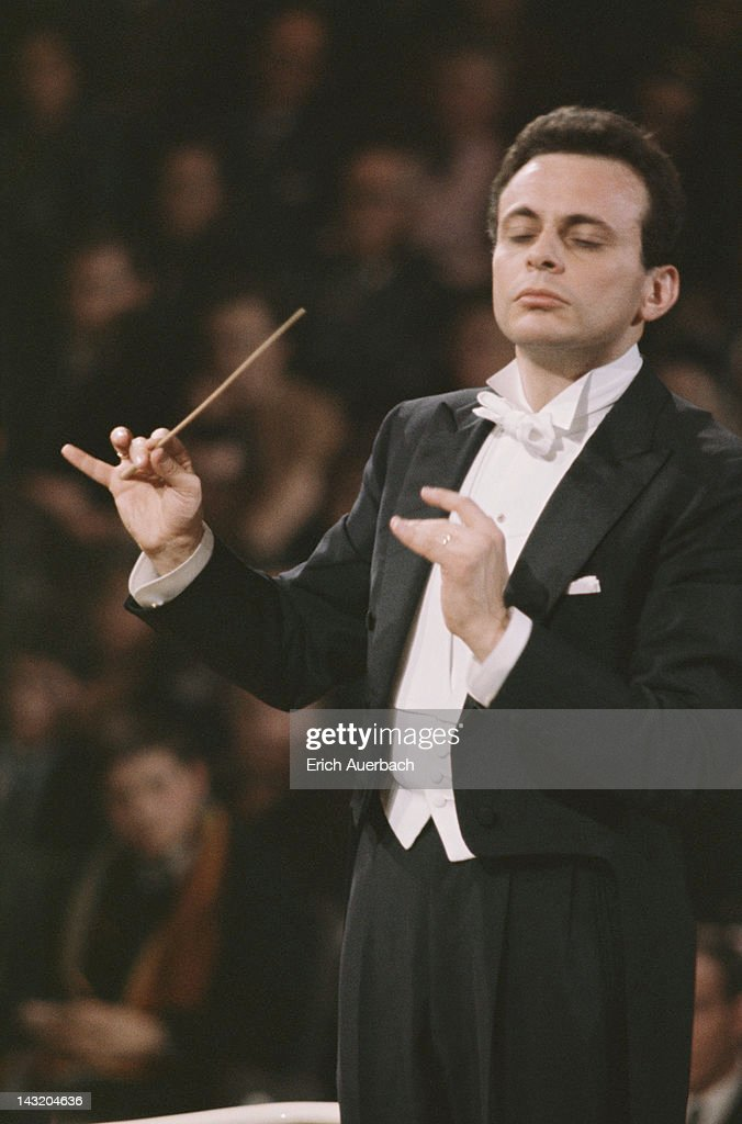 American conductor, composer and violinist Lorin Maazel, circa 1965.