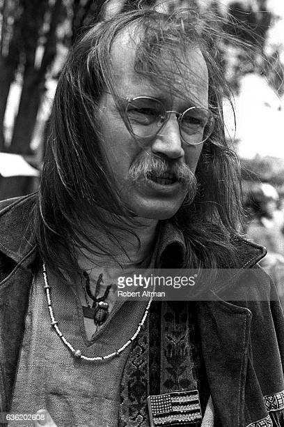 American counterculture Hippie icon Stephen Gaskin poses for a portrait during the Haight Street Faire at Golden Gate Park on May 24 1969 in San...