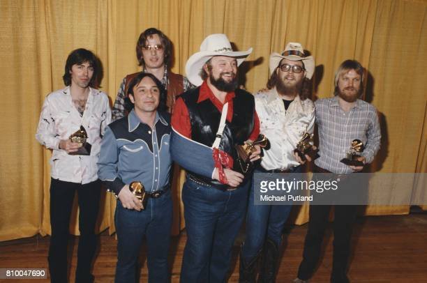American country musician Charlie Davids and his band winners of the Grammy Award for Best Country Vocal Performance for 'The Devil Went Down to...