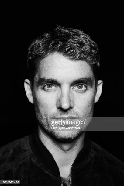 American country pop singer and songwriter Brett Young is photographed at the 2017 CMA Festival for Billboard Magazine on June 8 2017 in Nashville...