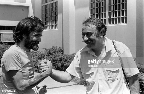American criminal Charles Manson the man who murdered Sharon Tate at California Medical Facility Vacaville Solano County California US August 1980