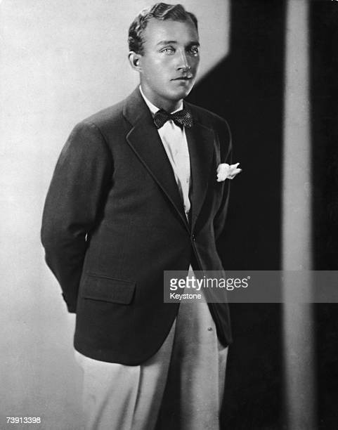 American crooner and actor Bing Crosby circa 1930