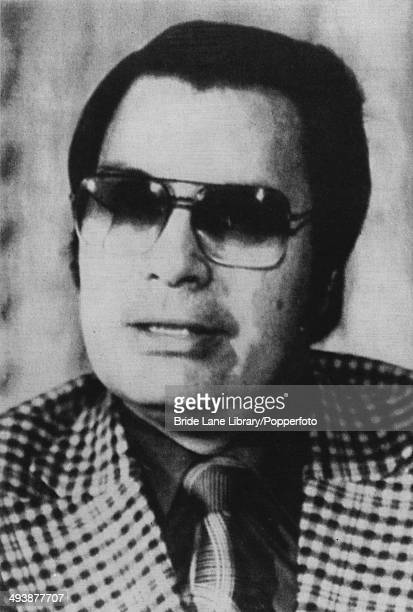American cult leader Jim Jones circa 1975 Jones founded the Peoples Temple in Jonestown Guyana where he and over 900 of his followers died in a mass...