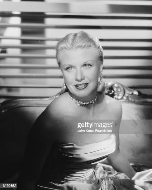 American dancer and actress Ginger Rogers best remembered for her legendary pairing with Fred Astaire in such films as 'Top Hat' and 'Swing Time'