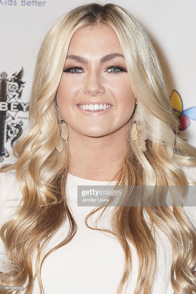 American dancer <a gi-track='captionPersonalityLinkClicked' href=/galleries/search?phrase=Lindsay+Arnold&family=editorial&specificpeople=10536483 ng-click='$event.stopPropagation()'>Lindsay Arnold</a> attends The Abbey's 8th Annual Christmas in September event benefiting The Children's Hospital Los Angeles at The Abbey on September 24, 2013 in West Hollywood, California.