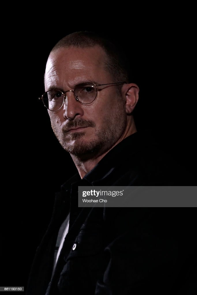 American Darren Aronofsky attends the post-screening Q&A of 'mother!' during the Busan International Film Festival on October 14, 2017 in Busan, South Korea.